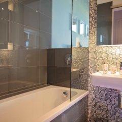 Отель Stadtbleibe Apartments Германия, Лейпциг - отзывы, цены и фото номеров - забронировать отель Stadtbleibe Apartments онлайн ванная фото 2
