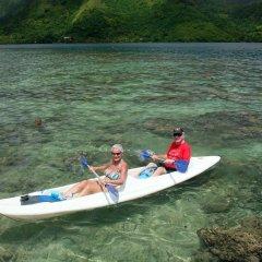 Отель Fare Vaihere Французская Полинезия, Муреа - отзывы, цены и фото номеров - забронировать отель Fare Vaihere онлайн приотельная территория