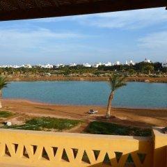 Отель El Gouna Villa 2 bedrooms with Garden пляж