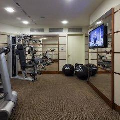 Отель UNAHOTELS Cusani Milano фитнесс-зал фото 2
