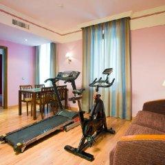 Отель Suites Gran Via 44 Apartahotel фитнесс-зал фото 4