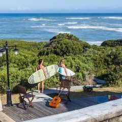 Отель Surf Lodge South Africa пляж фото 2