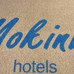 Cristallo Hotel Mokinba пляж