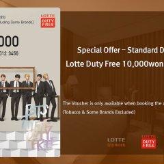 Lotte City Hotel Guro фитнесс-зал фото 4