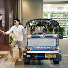 Отель Bangkok Marriott Marquis Queen's Park городской автобус