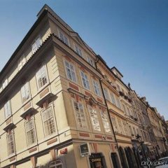 Отель Domus Balthasar Design Прага вид на фасад
