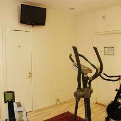 Отель Concordia Швеция, Лунд - отзывы, цены и фото номеров - забронировать отель Concordia онлайн фитнесс-зал фото 2