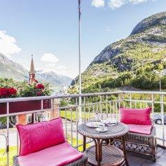 Tyssedal Hotel балкон