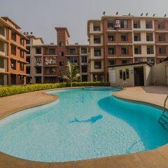 Отель OYO 11430 Home Green View 2BHK Old Goa Гоа бассейн