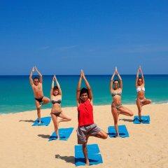 Отель Splash Beach Resort фитнесс-зал