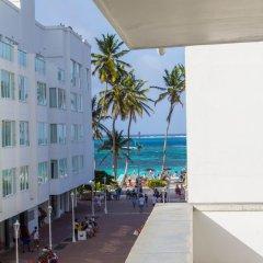 Отель Apartamento Turístico Edificio Calima Колумбия, Сан-Андрес - отзывы, цены и фото номеров - забронировать отель Apartamento Turístico Edificio Calima онлайн пляж фото 2
