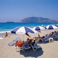 Arsi Hotel пляж