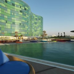 Отель Hilton Capital Grand Abu Dhabi ОАЭ, Абу-Даби - отзывы, цены и фото номеров - забронировать отель Hilton Capital Grand Abu Dhabi онлайн приотельная территория