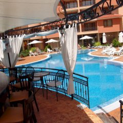 Отель Aparthotel Efir 2 Болгария, Солнечный берег - отзывы, цены и фото номеров - забронировать отель Aparthotel Efir 2 онлайн бассейн фото 3