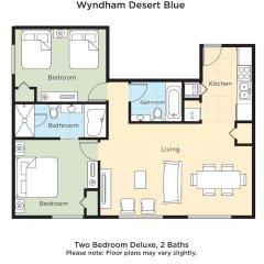 Отель Wyndham Desert Blue США, Лас-Вегас - отзывы, цены и фото номеров - забронировать отель Wyndham Desert Blue онлайн фото 8