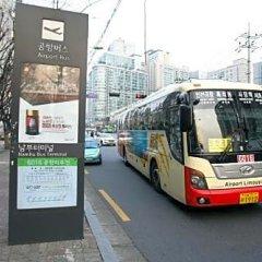 The California Hotel Seoul Seocho городской автобус