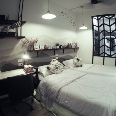 Jetty Huahin Hostel комната для гостей