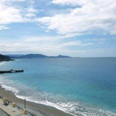Отель Sunrise apartments rodos Греция, Родос - отзывы, цены и фото номеров - забронировать отель Sunrise apartments rodos онлайн пляж фото 2