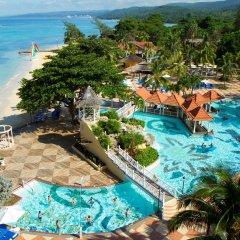 Отель Jewel Dunn's River Adult Beach Resort & Spa, All-Inclusive Ямайка, Очо-Риос - отзывы, цены и фото номеров - забронировать отель Jewel Dunn's River Adult Beach Resort & Spa, All-Inclusive онлайн пляж