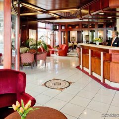 Novum Hotel Continental Frankfurt гостиничный бар