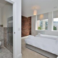 Отель Canal Street Apartments Великобритания, Манчестер - отзывы, цены и фото номеров - забронировать отель Canal Street Apartments онлайн ванная фото 2