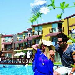Silence Beach Resort Турция, Сиде - 1 отзыв об отеле, цены и фото номеров - забронировать отель Silence Beach Resort - All Inclusive онлайн бассейн фото 2