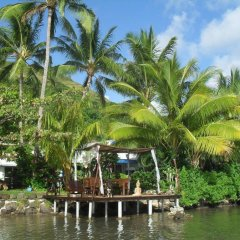 Отель Bora Bora Bungalove Французская Полинезия, Бора-Бора - отзывы, цены и фото номеров - забронировать отель Bora Bora Bungalove онлайн приотельная территория