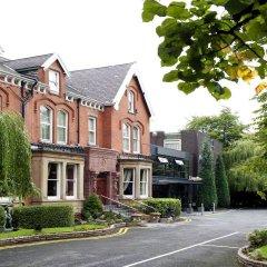 Отель Hallmark Inn Manchester South парковка