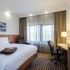 Отель Hampton by Hilton Amsterdam Airport Schiphol комната для гостей