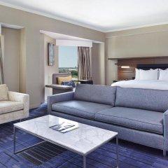 Отель Hilton Newark Airport США, Элизабет - отзывы, цены и фото номеров - забронировать отель Hilton Newark Airport онлайн комната для гостей фото 3
