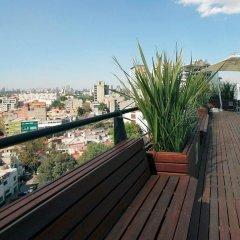 Отель Filadelfia Suites Hotel Boutique Мексика, Мехико - отзывы, цены и фото номеров - забронировать отель Filadelfia Suites Hotel Boutique онлайн балкон