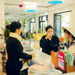 Отель Thanh Binh Riverside Hoi An Вьетнам, Хойан - отзывы, цены и фото номеров - забронировать отель Thanh Binh Riverside Hoi An онлайн интерьер отеля фото 3