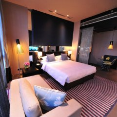 Отель The Boulevard Arjaan by Rotana сейф в номере