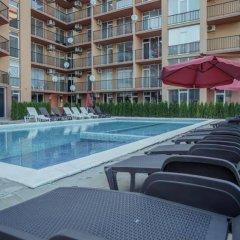 Отель Sunny Beach South Apartments Болгария, Солнечный берег - отзывы, цены и фото номеров - забронировать отель Sunny Beach South Apartments онлайн бассейн