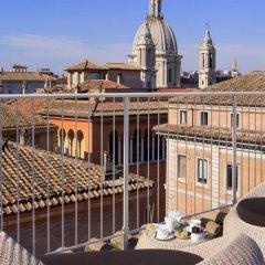 Отель Navona - Dimora Storica Италия, Рим - отзывы, цены и фото номеров - забронировать отель Navona - Dimora Storica онлайн балкон