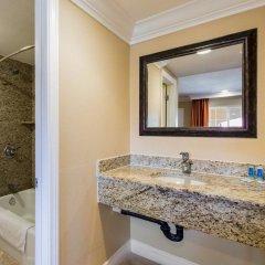 Отель Rodeway Inn Near La Live Хантингтон-Парк ванная