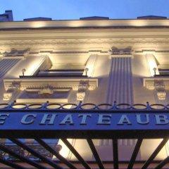 Отель Hôtel Chateaubriand Champs Elysées Париж гостиничный бар