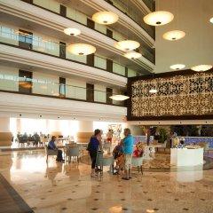 Side Prenses Resort Hotel & Spa Турция, Анталья - 3 отзыва об отеле, цены и фото номеров - забронировать отель Side Prenses Resort Hotel & Spa онлайн интерьер отеля