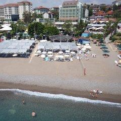 Aska Buket Resort & Spa Турция, Окурджалар - отзывы, цены и фото номеров - забронировать отель Aska Buket Resort & Spa онлайн пляж