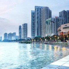 Отель G Hotel Gurney Малайзия, Пенанг - отзывы, цены и фото номеров - забронировать отель G Hotel Gurney онлайн приотельная территория фото 2