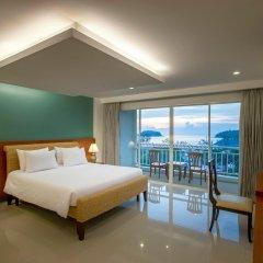 Отель Chanalai Flora Resort, Kata Beach 4* Представительский номер разные типы кроватей фото 2