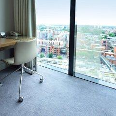 Отель Hilton Manchester Deansgate Манчестер балкон