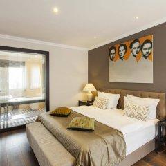 Отель Quentin Prague Чехия, Прага - отзывы, цены и фото номеров - забронировать отель Quentin Prague онлайн комната для гостей фото 3