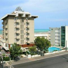 Отель Ascot & Spa Италия, Римини - отзывы, цены и фото номеров - забронировать отель Ascot & Spa онлайн пляж