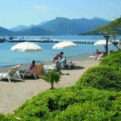 Отель Grand Azur Marmaris пляж фото 2