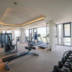 Отель THE BASE Height by Favstay фитнесс-зал фото 3