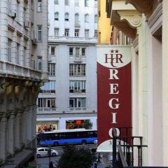 Отель Hostal Regio балкон