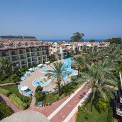 Отель Crystal Aura Beach Resort Кемер балкон