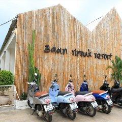 Отель Baan Rin Ruk парковка
