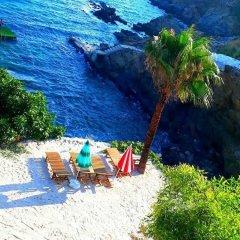 Отель Pinar Motel пляж
